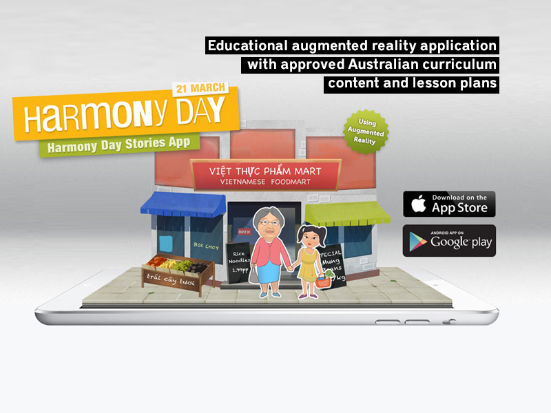 Augmented Reality App for Education Agency