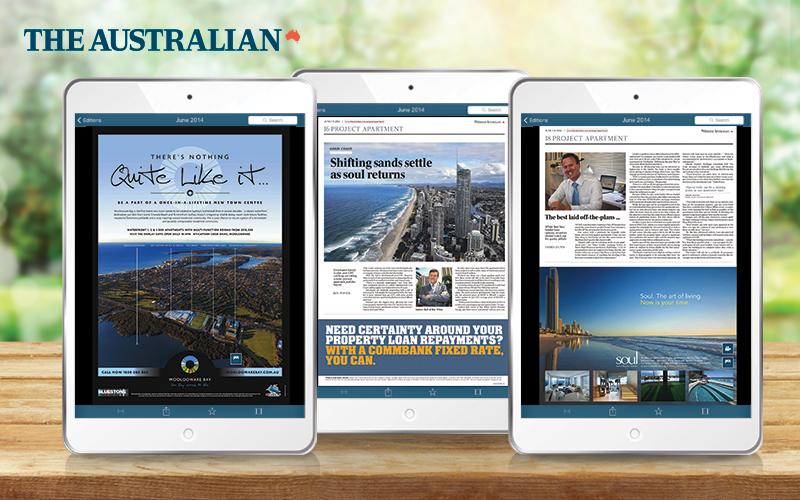 property development interactive digital publication