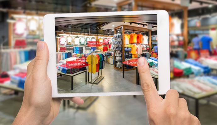 Augmented reality in Retail AR, VR Sydney Brisbane