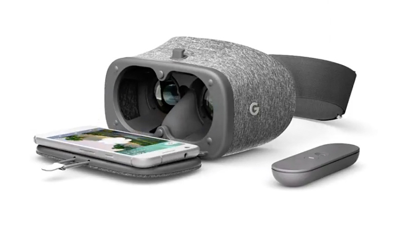 AR VR Headset Experiences daydream view