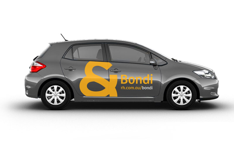 Vehicle decals and graphics installation, branding design agency brisbane
